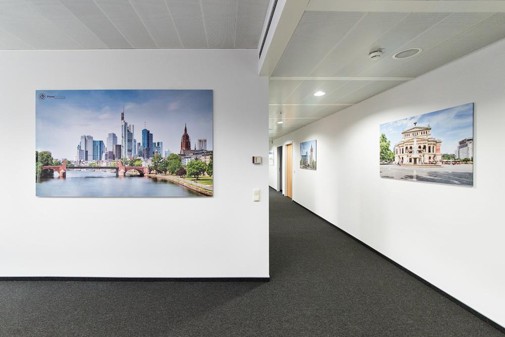 3x Acrylglas Frankfurt