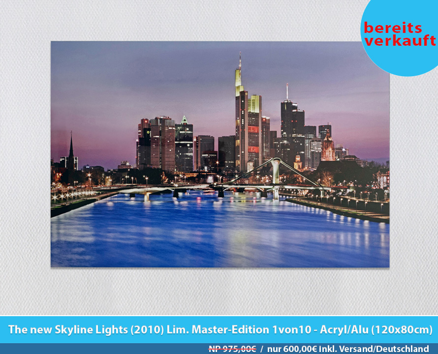 Bildershop Frankfurt - 001 Skyline Lights