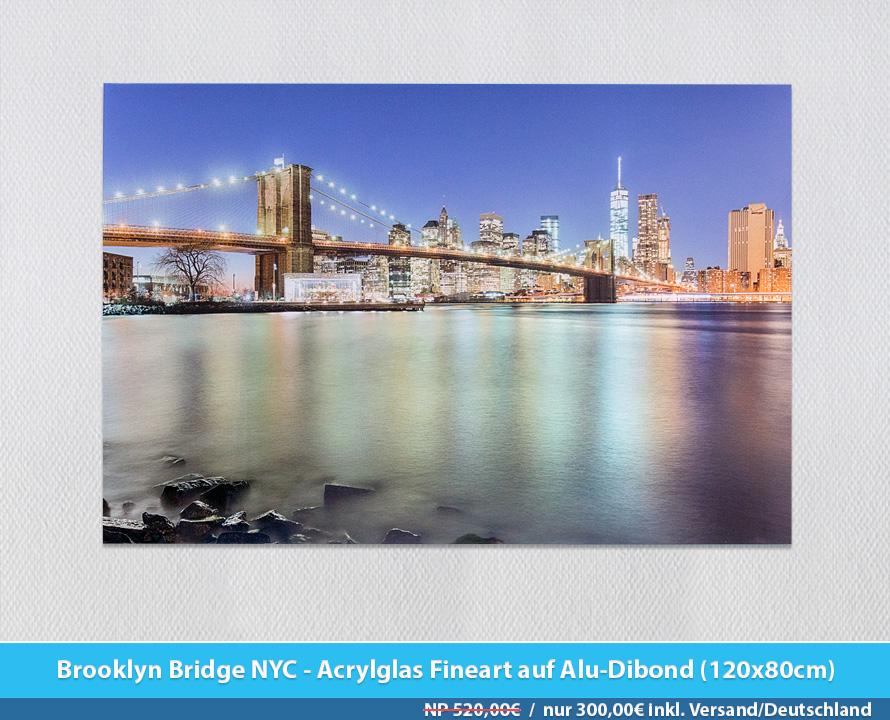 Bildershop Frankfurt - 003 NYC Brooklyn Bridge