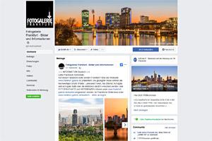 Fotogalerie Frankfurt - Facbook Fanpage